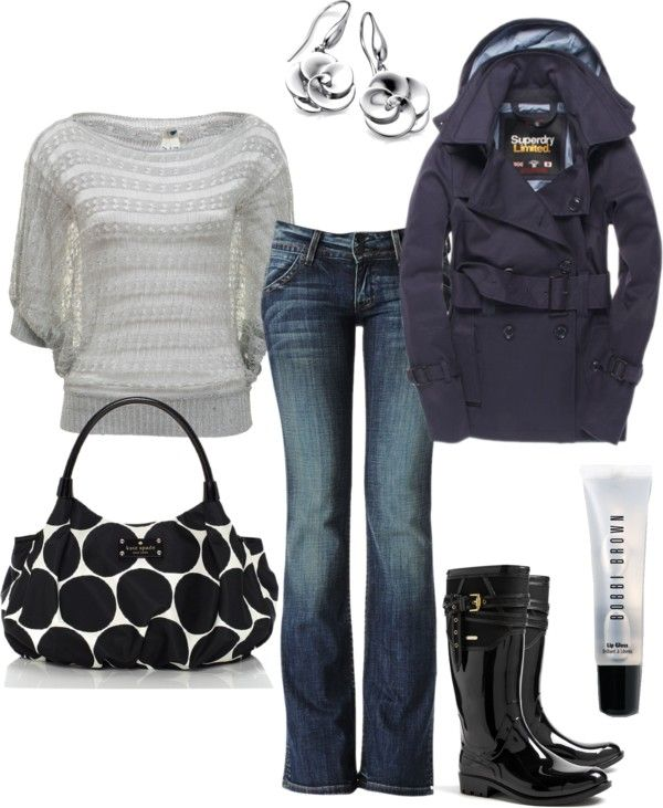 Cute Rainy Day: Cute Rainy Day Outfit