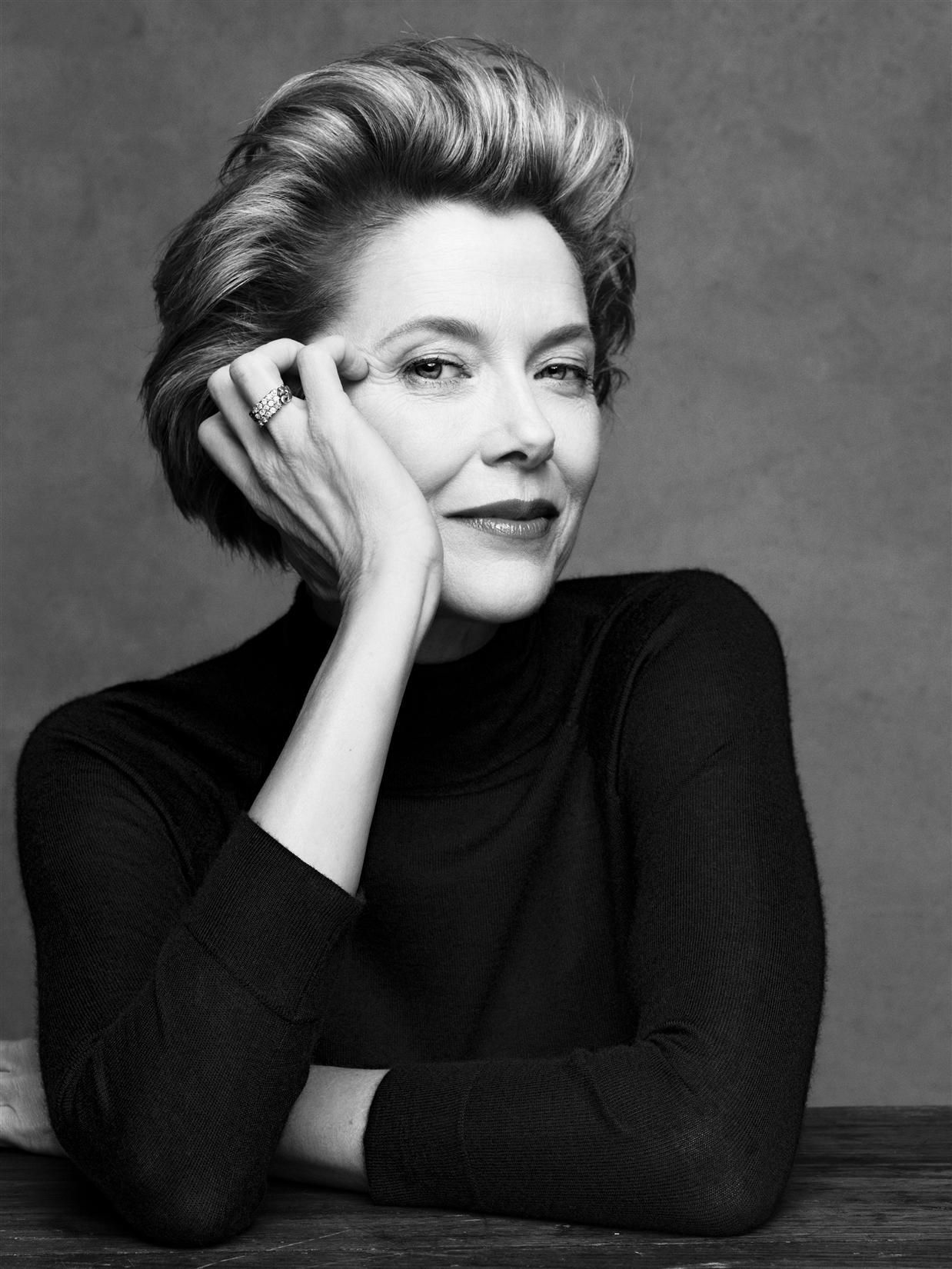 Annette Bening (1958) - American actress. Photo © Patrick Demarchelier