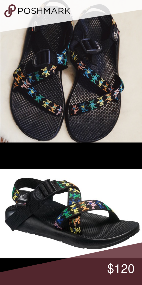 1749e7f4ec6b Grateful Dead LIMITED EDITION Chacos Grateful Dead dancing bear chacos from  the Grateful Dead Collection.