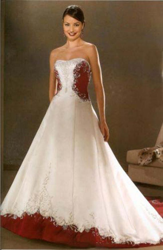 Cultural Wedding Dresses Wedding Dress With Red Rose