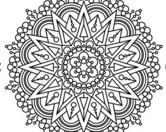 101 intricate mandala coloring pages flowerhenna krishthebrand