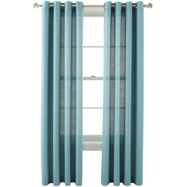 Marthawindow Provence Weave Grommet Top Curtain Panel Jcpenney