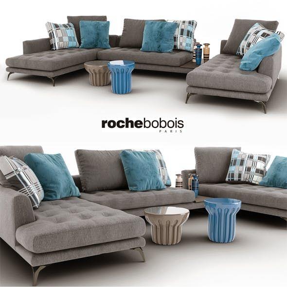 Sofa Symbole Composition Roche Bobois Canape Rochebobois