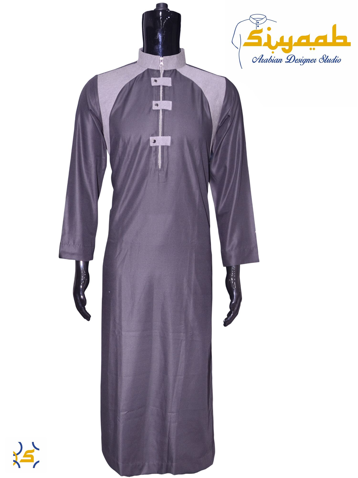 Online Clothes Designer | Siyaab Clothing Designer Jubba Thobes Online Arabic Dress Online