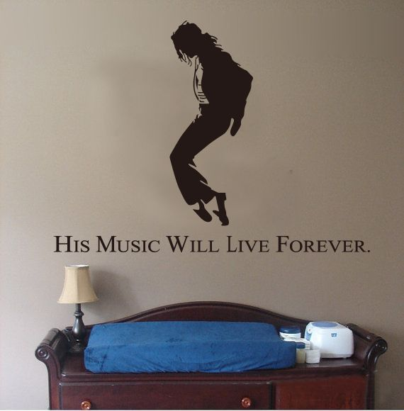 Michael Jackson Decal Vinyl Car Sticker Decal Auto Door DIY Home Wall Stickers