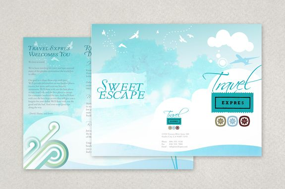 Travel And Tourism Brochure Template  Any Travel Agency Or
