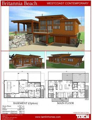 Contemporary Designs Tamlin Timber Frame Homes Modern House Plans Beach House Plans Timber Frame Homes
