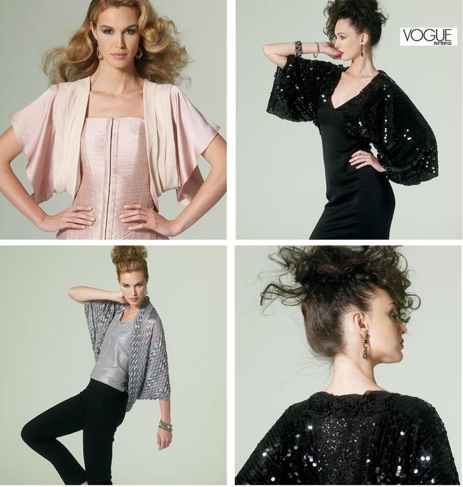 Vogue Pattern Bolero Jacket Vogue Pattern Bolero Jacket Vogue