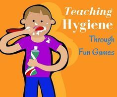 to Teach Kids About Personal Hygiene I'm in love with teaching kids through games. They absorb the information so much easier and it's fun for everyone! Check out this link on teaching kid's hygiene through games!I'm in love with teaching kids through games. They absorb the information so much easier and it's fun for everyone! Check out this link on teachin...