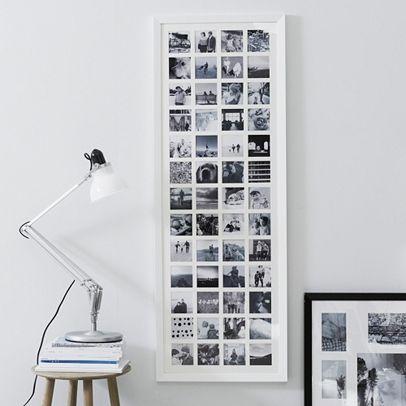 52 Aperture Year in Memories Photo Frame | White company, Garage ...