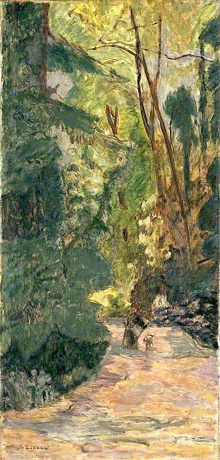Pierre Bonnard - A Path in the Forest