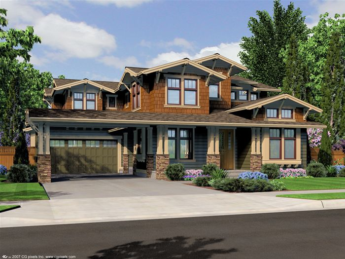 Craft Homes Craftsman Bungalow House Plans Craftsman Style House Plans Craftsman House Plans