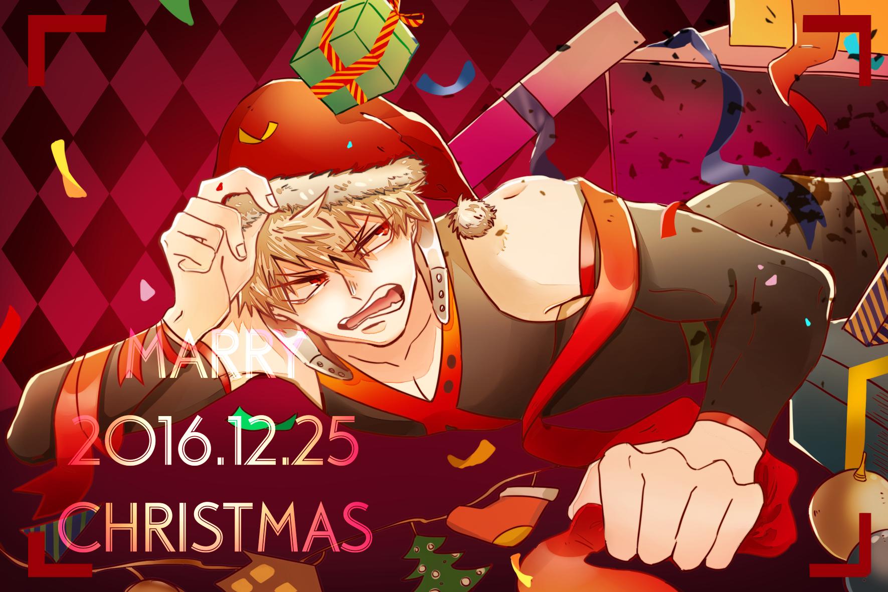 Boku no Hero Academia || Katsuki Bakugou (Merry Christmas)