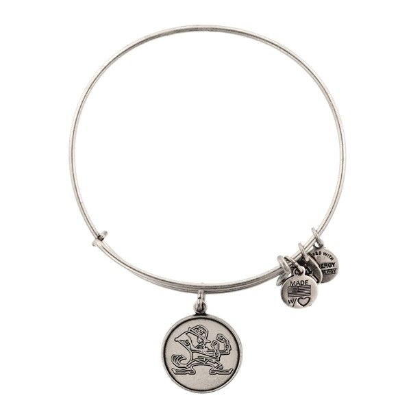 University Of Notre Dame Mascot Charm Bracelet Alex And Ani