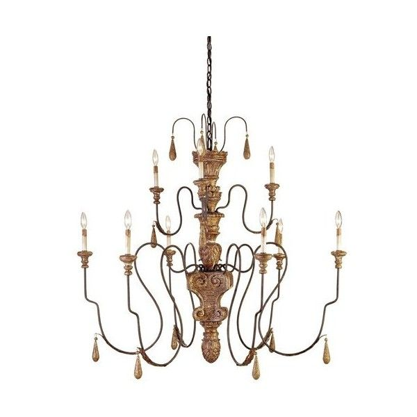 Currey and Company 9324 Mansion Chandelier Medium with Customizable ($3,240) ❤ liked on Polyvore featuring home, lighting, ceiling lights, chandeliers, indoor lighting, mansion gold, antique ceiling lights, antique shades, brown shades and brown lamps