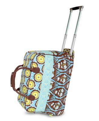 Rolling Duffel Bag by Amy Butler