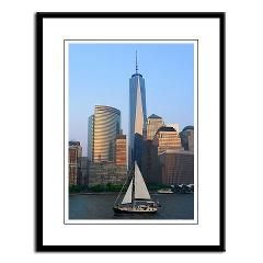 Freedom Tower New York City, One World Trade - Framed Print, Original photography of New York City