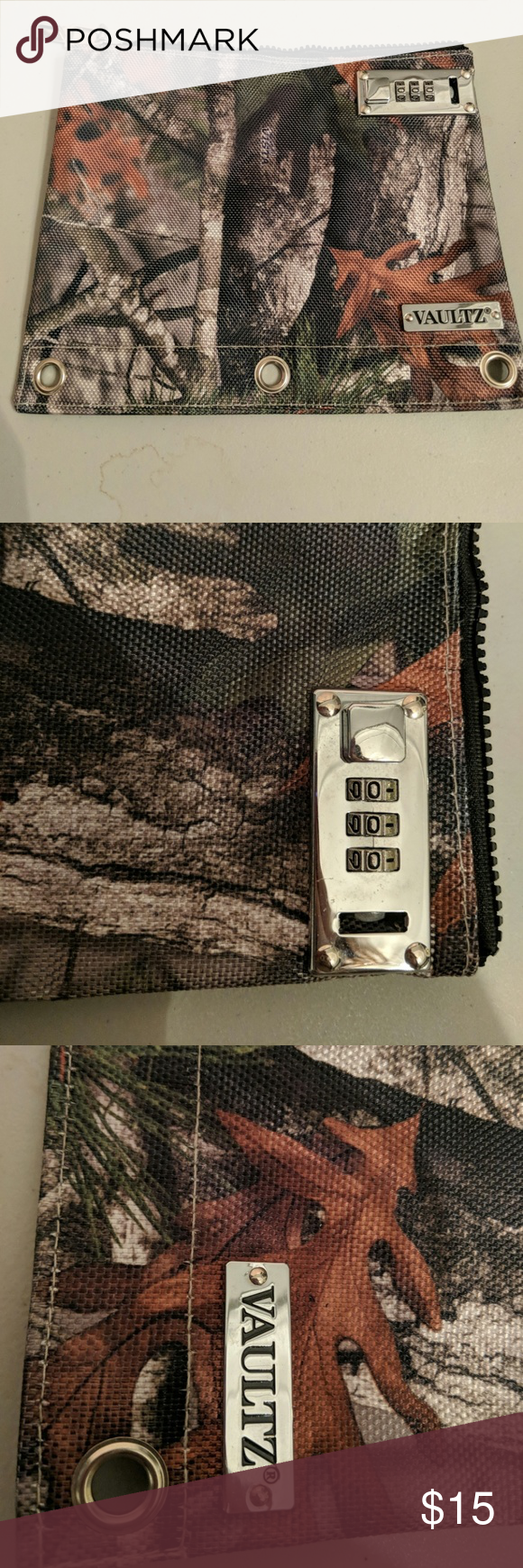 New Vaultz Three Ring Combination Lock Pouch My Posh Picks