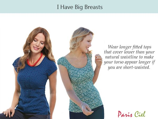 6c981fa001 Style Tips For Women With Big Breasts