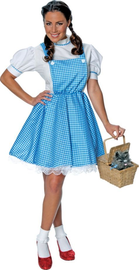 0b87077e9366b Wizard of Oz Dorothy Costume for Adults - Party City   Halloween ...