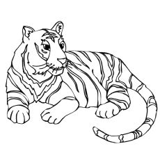 Top 20 Free Printable Tiger Coloring Pages Online Animal