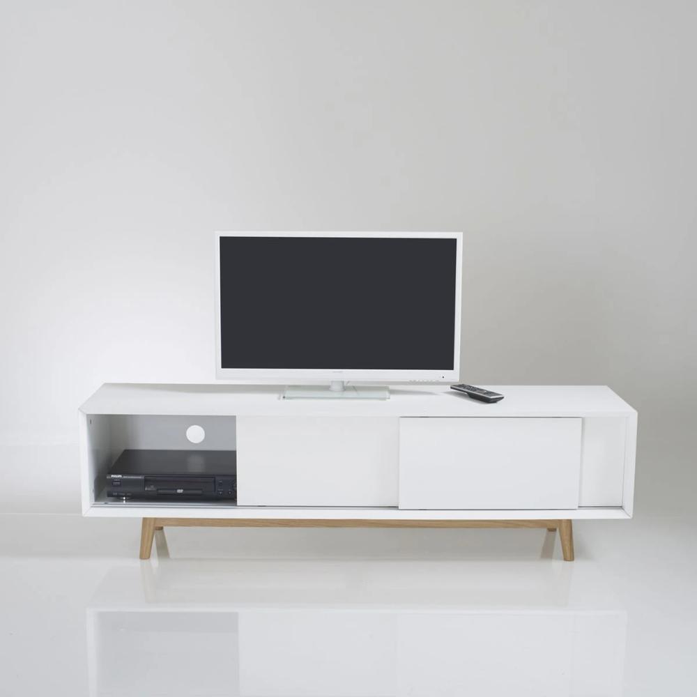Meuble Tv Vintage 3 Portes Coulissantes Jimi En 2020 Tv Vintage Meuble Tv Mobilier De Salon