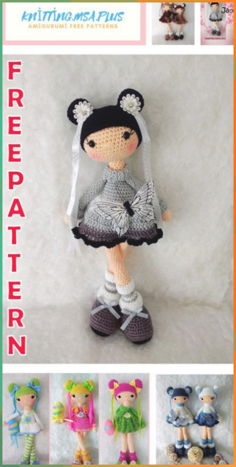 Lovely Amigurumi Doll, Animal, Plant, Cake and Ornaments Pattern ... | 952x482