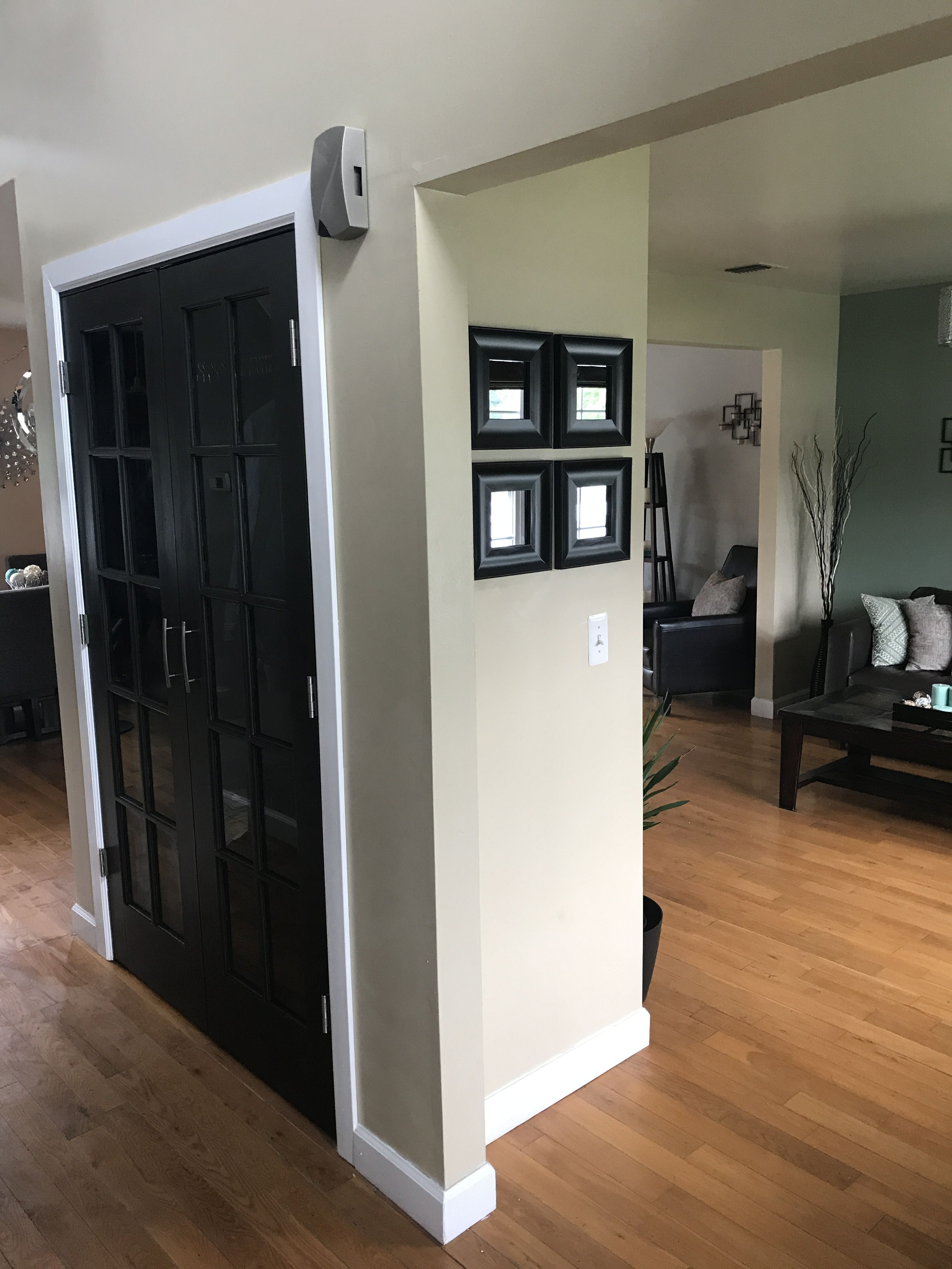 Coat Closet Doors Black French Behr Mocha