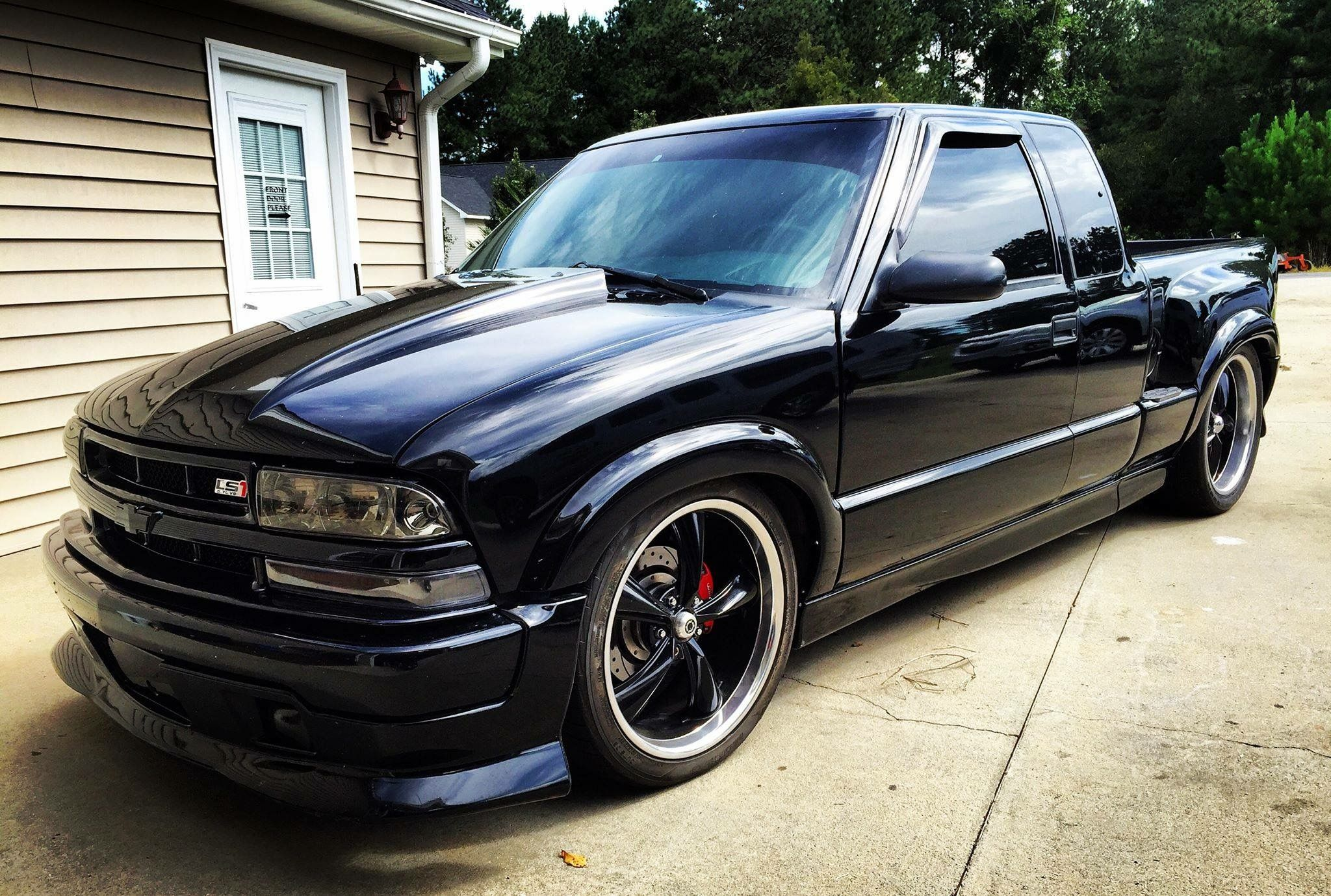 Chevy S10 Ls1 Swap Modified Lowered Bagged Chevy S10 Chevy S10 Xtreme S10 Truck