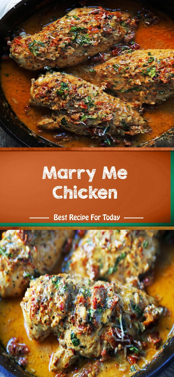 Marry Me Chicken | Healthy Recipes #marrymechicken