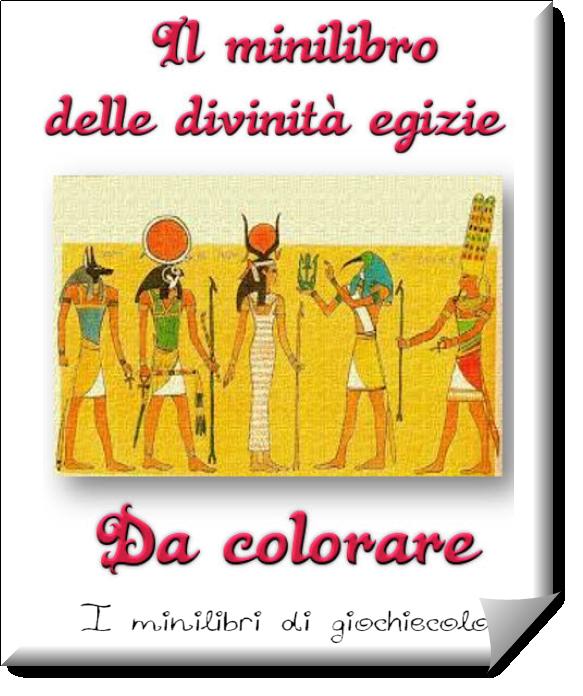 Un libretto di 16 pagine in pdf da colorare sulle divinit - Immagini di colorare le pagine del libro da colorare ...