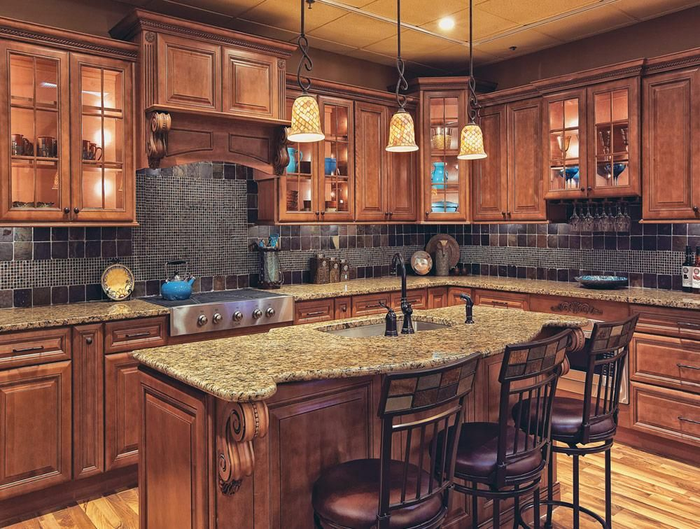 Brentwood Kitchen   Traditional kitchen cabinets
