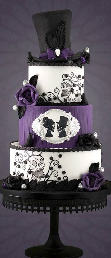 Gothic Wedding Cake | Cakes Beautiful Cakes for the ...