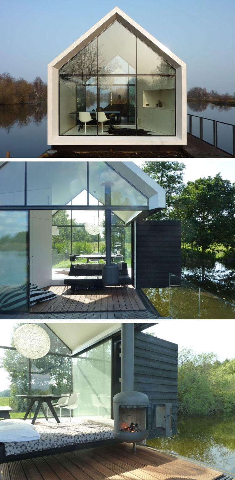 Haus Aus Glas Perfekter Ruckzugsort Mitten Im Wald Tiny House