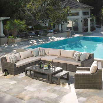 Kingston 10 Piece Deep Seating Set By Mission Hills® This May Be THE ONE