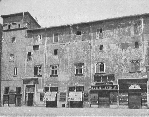 Foto storiche di Roma - Palazzo Capranica