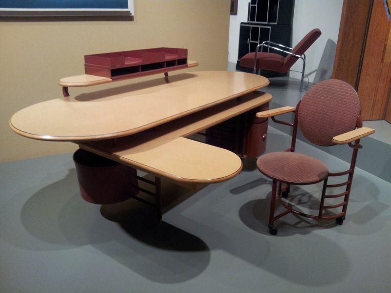 Johnson Wax Company Administration Building Furniture Racine Wis 1936 Frank Lloyd Wright