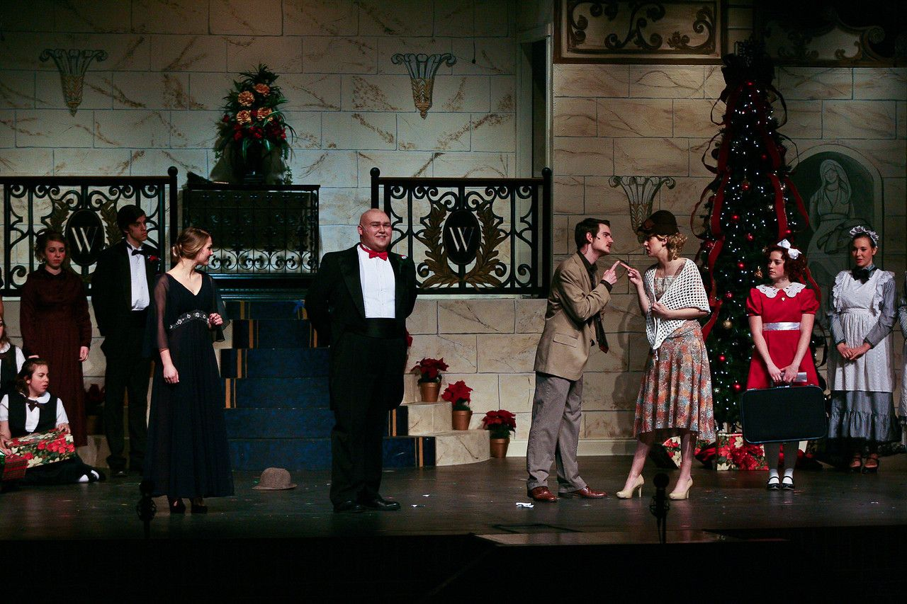 Warbucks at Christmas. Annie. 2014