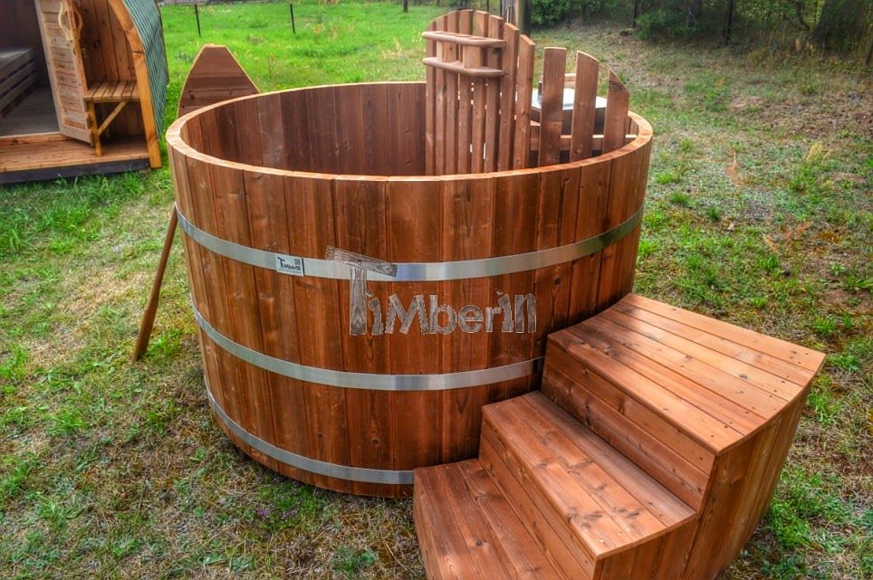 holz hot tub basic thermoholz serie 12 badetonne badefass badezuber badebottich hot tubs. Black Bedroom Furniture Sets. Home Design Ideas