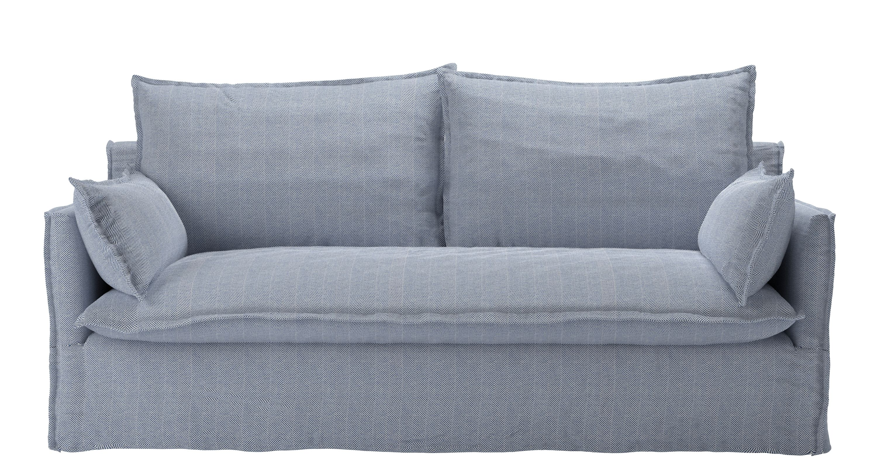 Isaac Three Seat Sofa In Uniform House Herringbone Weave Fabric Sofas Sofas Sofa Fabric Sofa Removable Cover