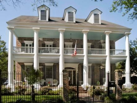 Porches And Home Styles Greek Revival Home Greek Revival Architecture Greek Revival