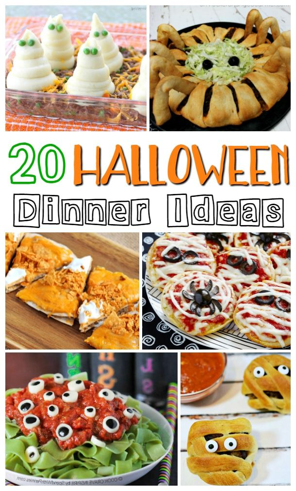 Halloween Dinner Ideas | Mommy Musings