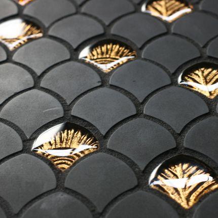 Vetrovivo Mosaiques Carrelage Decoration Noir Et Blanc