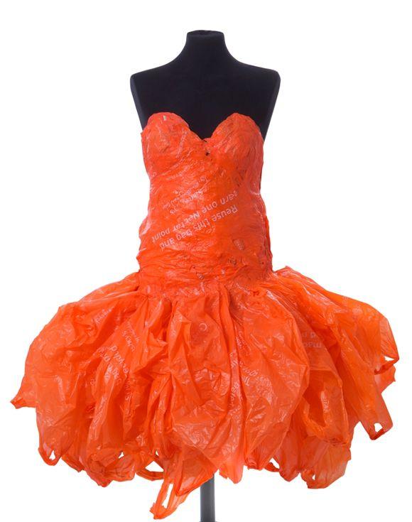 Remarkable, Plastic bag dresses