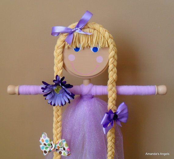 cute hair bow holder craft ideas