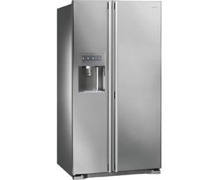Smeg Cucina SS55PTE3 American Fridge Freezer Freestanding ...