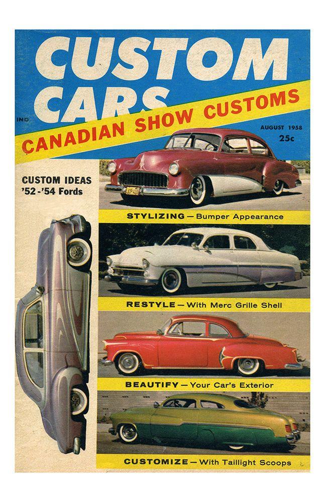 Hot Rod Poster 11x17 #hotrod #magazine #poster #print #art #vintage ...