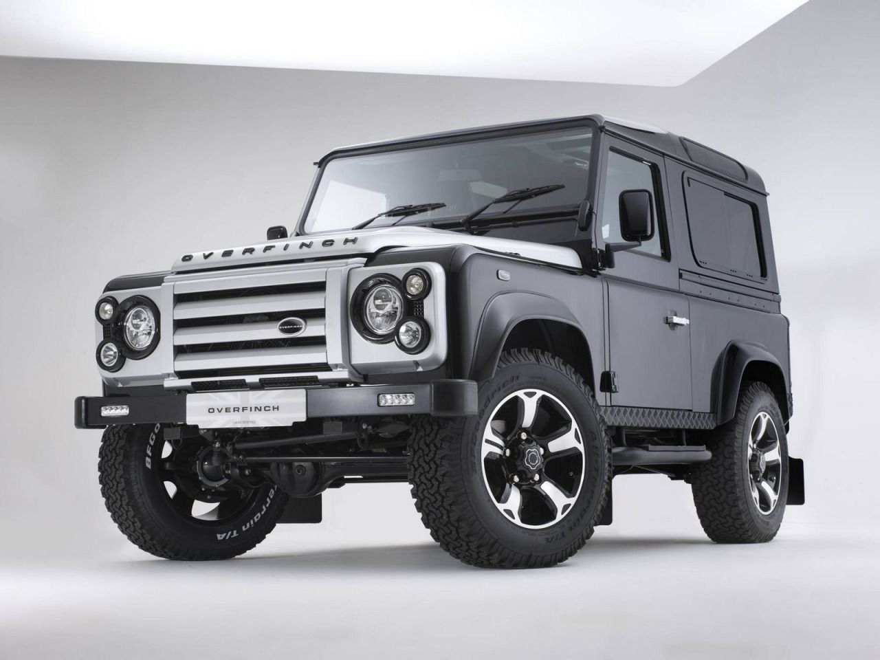 Land rover defender 40th anniversary by overfinch