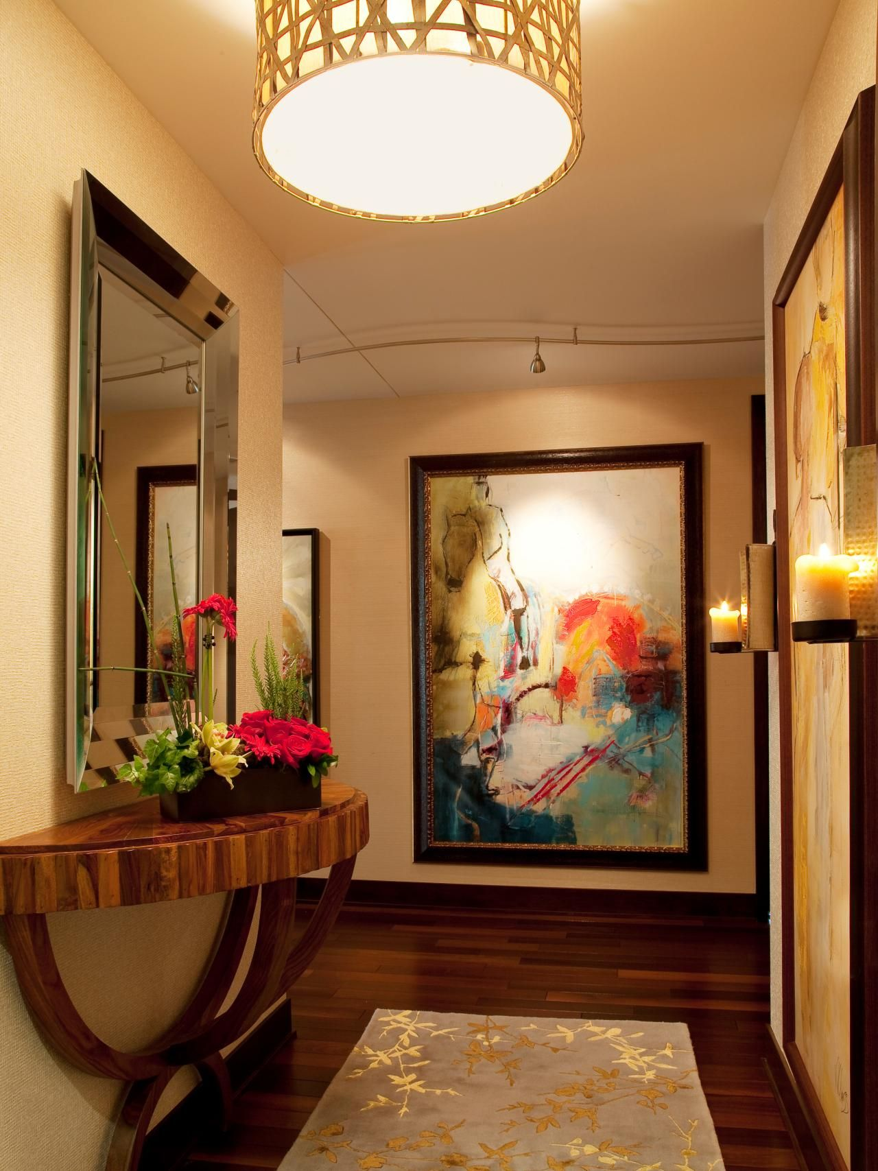 track lighting for art. DIY Network Offer Advice On Properly Lighting Artwork, Including Outlining The Style And Type Of Light That\u0027s Best For Different Types Art. Track Art