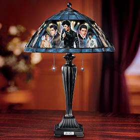 Elvis Presley The King Of Rock 'n' Roll Table Lamp | Elvis ...